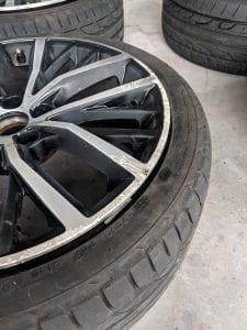 Volkswagen wheel rash